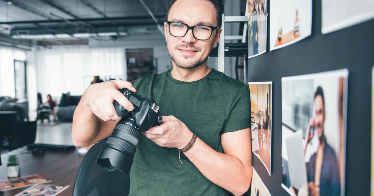 男性カメラ