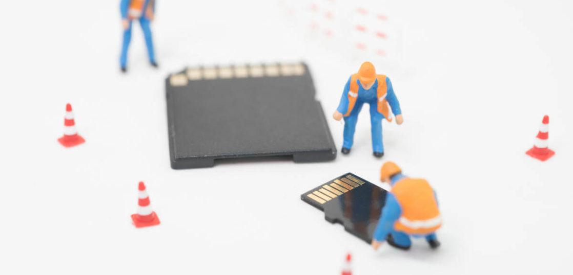 SDカード 認識されない