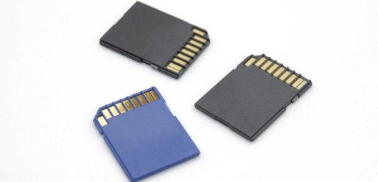 SDカードとはなにか?種類によるそれぞれの違いと基本的な使い方