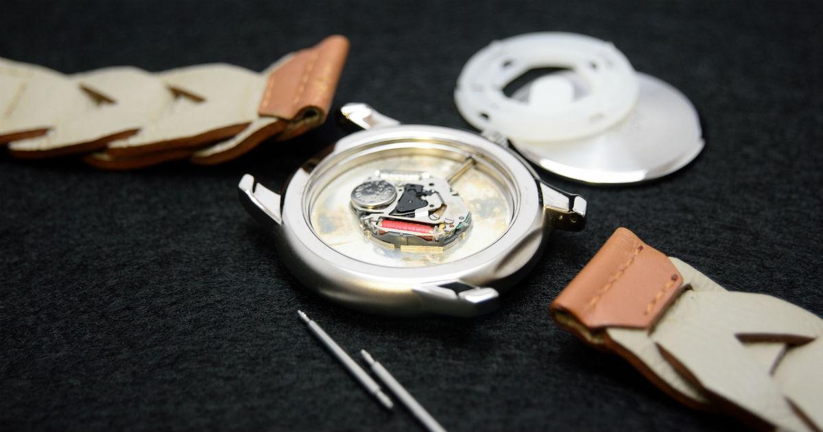 ベルト 調整 時計