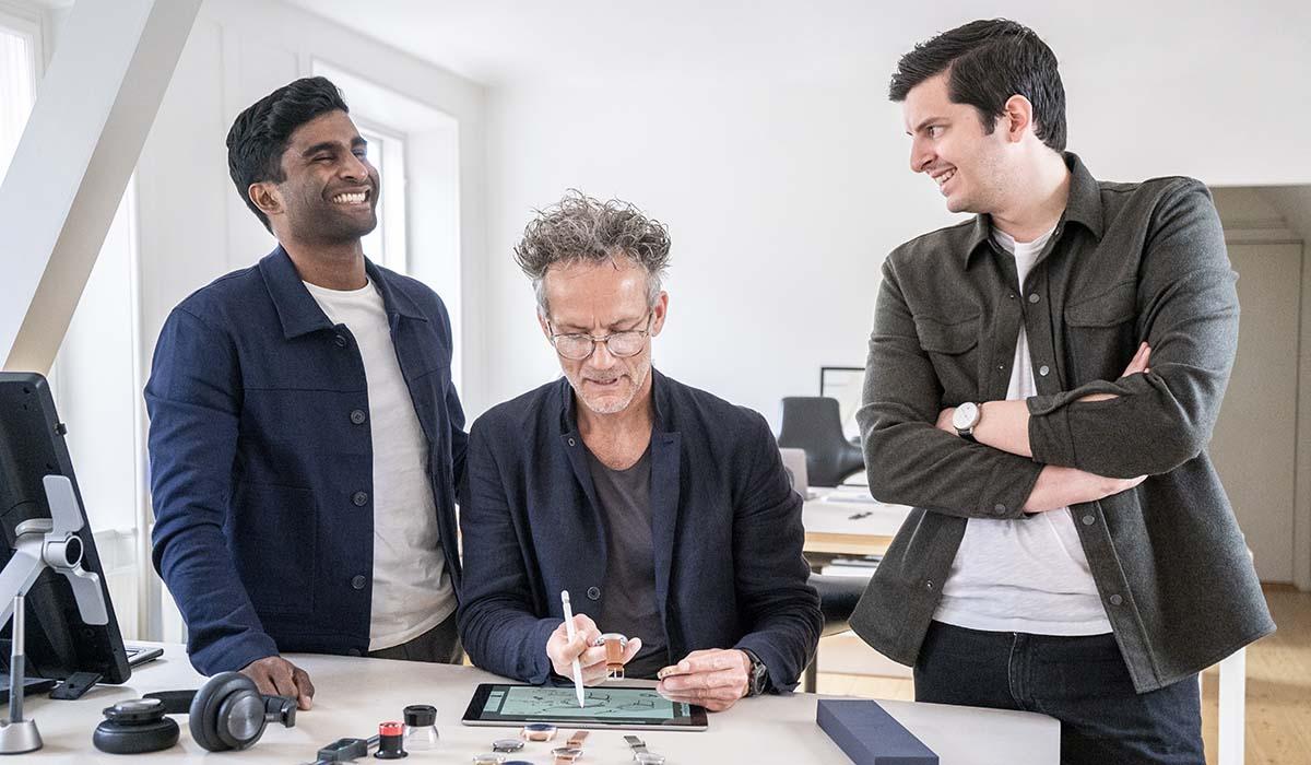 Nordgreen CEOとデザイナー3人の写真