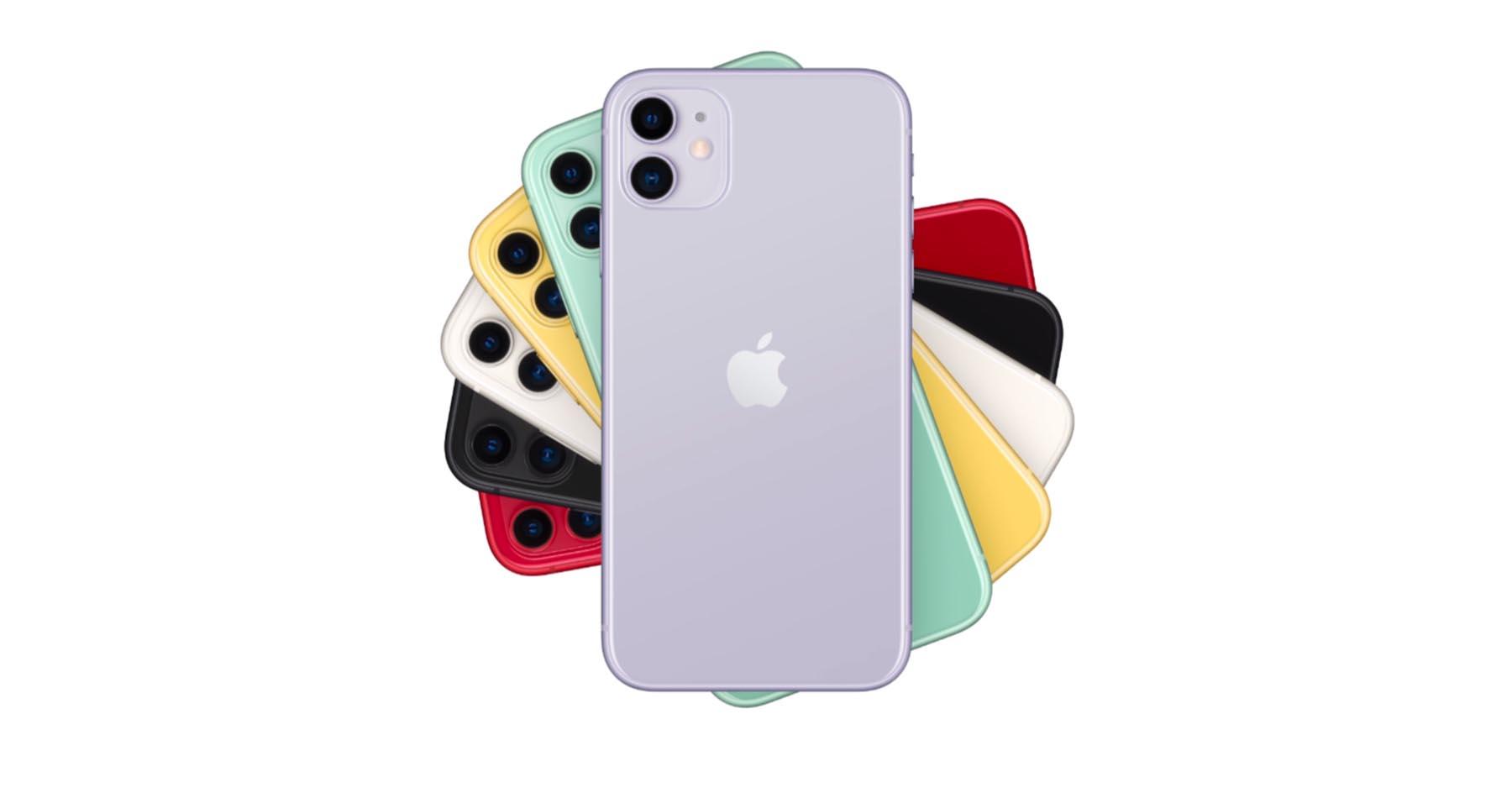 iPhone11 ボディカラー