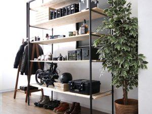 DOPPELGANGER(R) 天井から床までのスペースを最大限活用できるオープンシェルフ用キットを発売!②