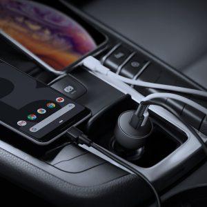 AUKEY 新型のiPone11にもフルスピード充電!次世代車載充電器「AUKEY CC-Y10」が30%オフ!③