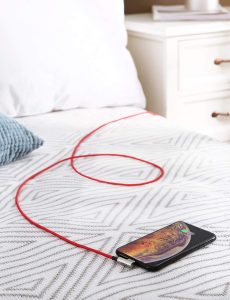 AUKEY 2本組高耐久ナイロン編みのライトニングUSBケーブルCB-AL01が新発売!⑥